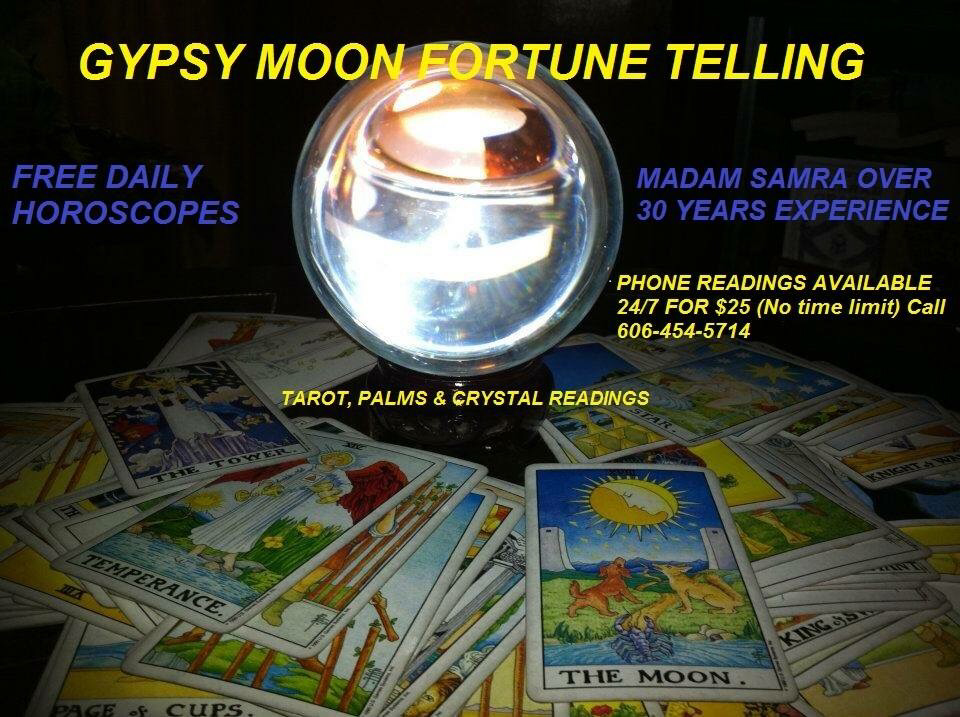 My Experiences With Gypsy Moon Fortune Telling - welcome